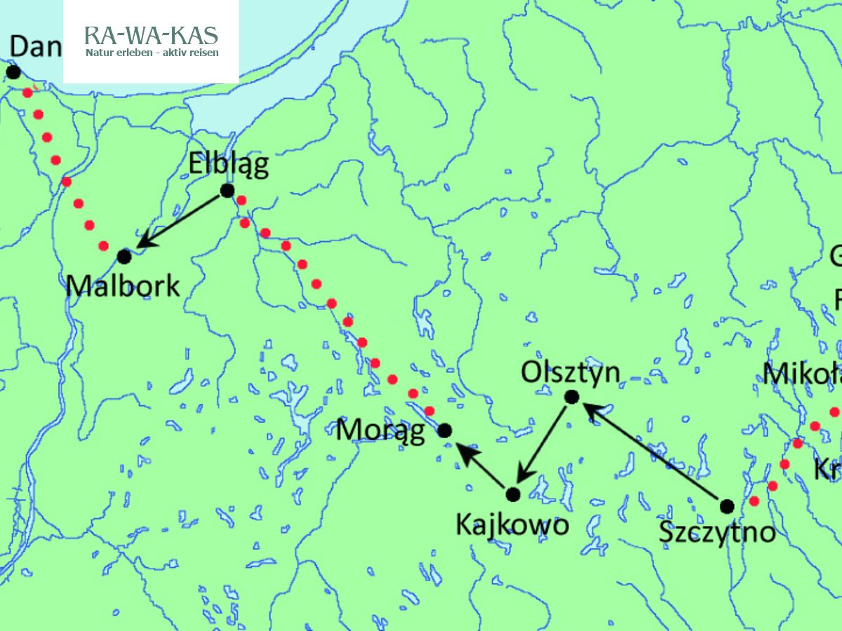 Polen Mit Dem Rad Von Masuren Nach Danzig Rawakas